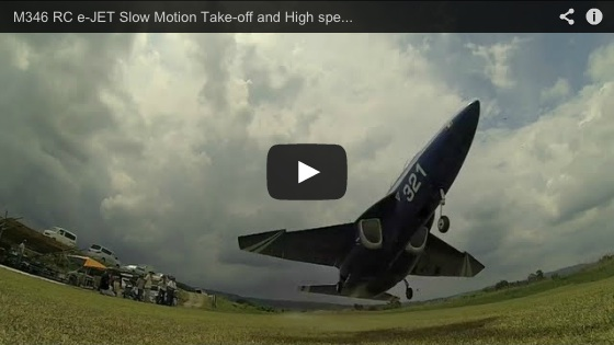 M346 RC e-JET Slow Motion Take-off and High speed Low-pass Gopro Hero3